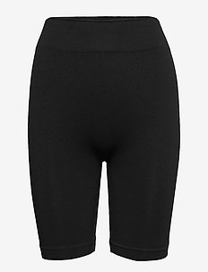 DECOY seamless shorts - midi & maxi - black