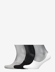 DECOY footlets cotton 3-pack - MULTI