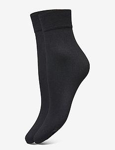 DECOY ankle sock micro 2-pk 60 - skarpetki do tenisówek - svart
