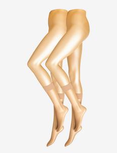 DECOY kneehigh soft lux 2pk 15 - socks - sierra