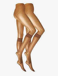 DECOY kneehigh silklook 2pk 20 - knee-highs - sierra