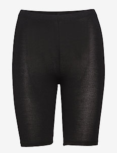 DECOY shorts viscose stretch - bottoms - black