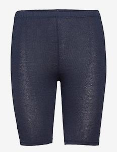 DECOY shorts viscose stretch - bottoms - navy