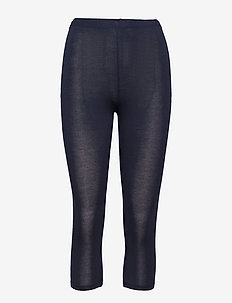 DECOY capri viscose stretch - leggings - navy