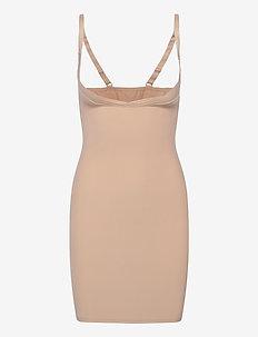 DECOY Shapewear dress - hauts - nude