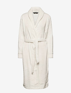 DECOY long robe w/piping - bedrok - cloud danc