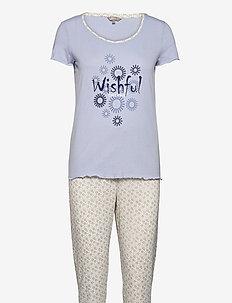 DECOY py w/print - pyjama''s - zen blue