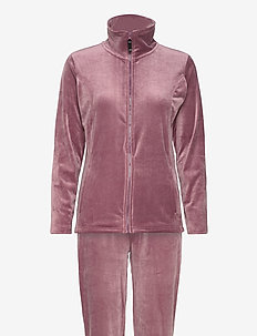 DECOY velour homewear set - pyjamat - no color name