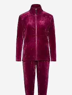 DECOY velour homewear set - pyjama''s - potion pur