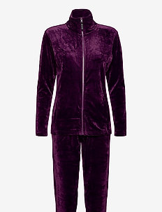DECOY velour homewear set - pyjama''s - shadow pur