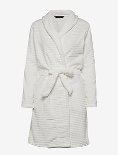 DECOY short robe w/stripes - bathrobes - cloud danc