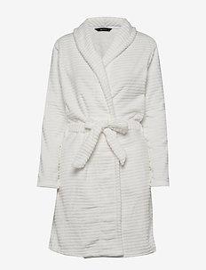 DECOY short robe w/stripes - kylpytakit - cloud danc