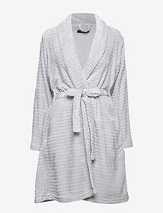 DECOY short robe w/stripes - bathrobes - harbor mis
