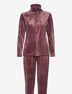 DECOY velour homewear set - pyjama''s - multi