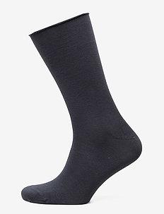 Ladies thin ankle sock - socks - navy