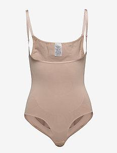 Shape wear Body stocking - góry - nude