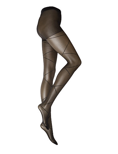 Tights Silverbands - BLACK