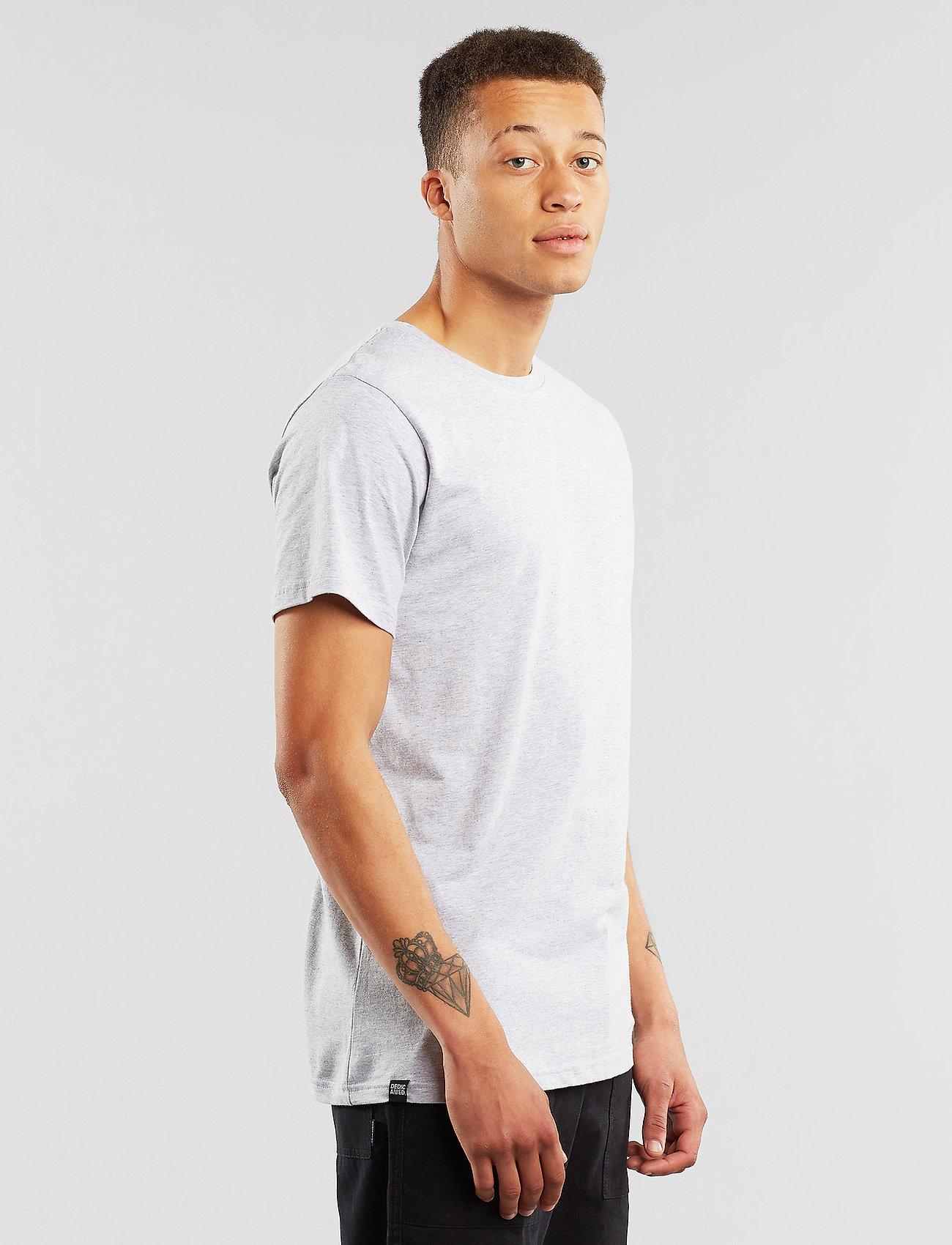 DEDICATED T-shirt Stockholm Base - T-skjorter GREY MELANGE - Menn Klær