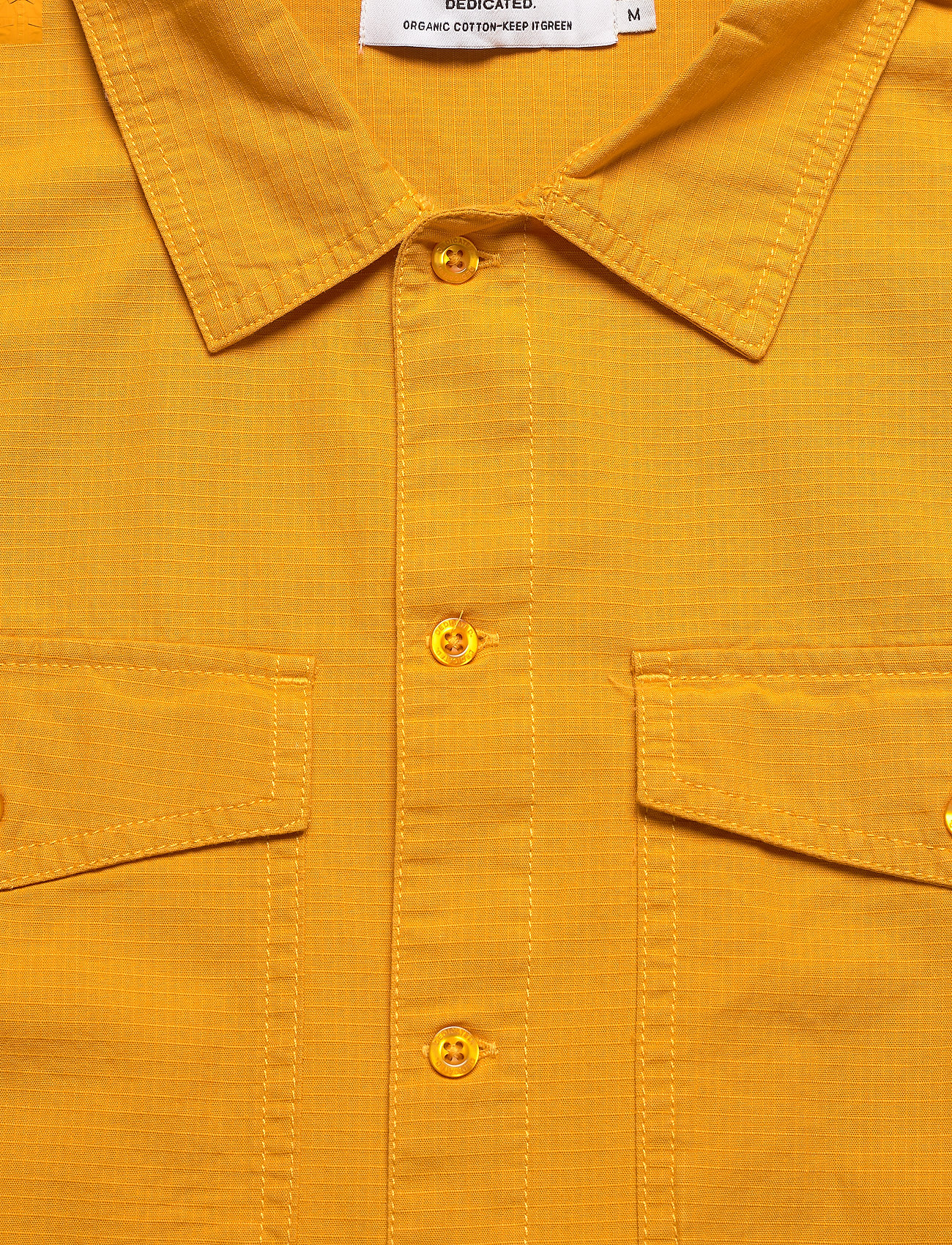 DEDICATED - Shirt Edsbyn Golden Yellow - chemises à carreaux - golden yellow - 2
