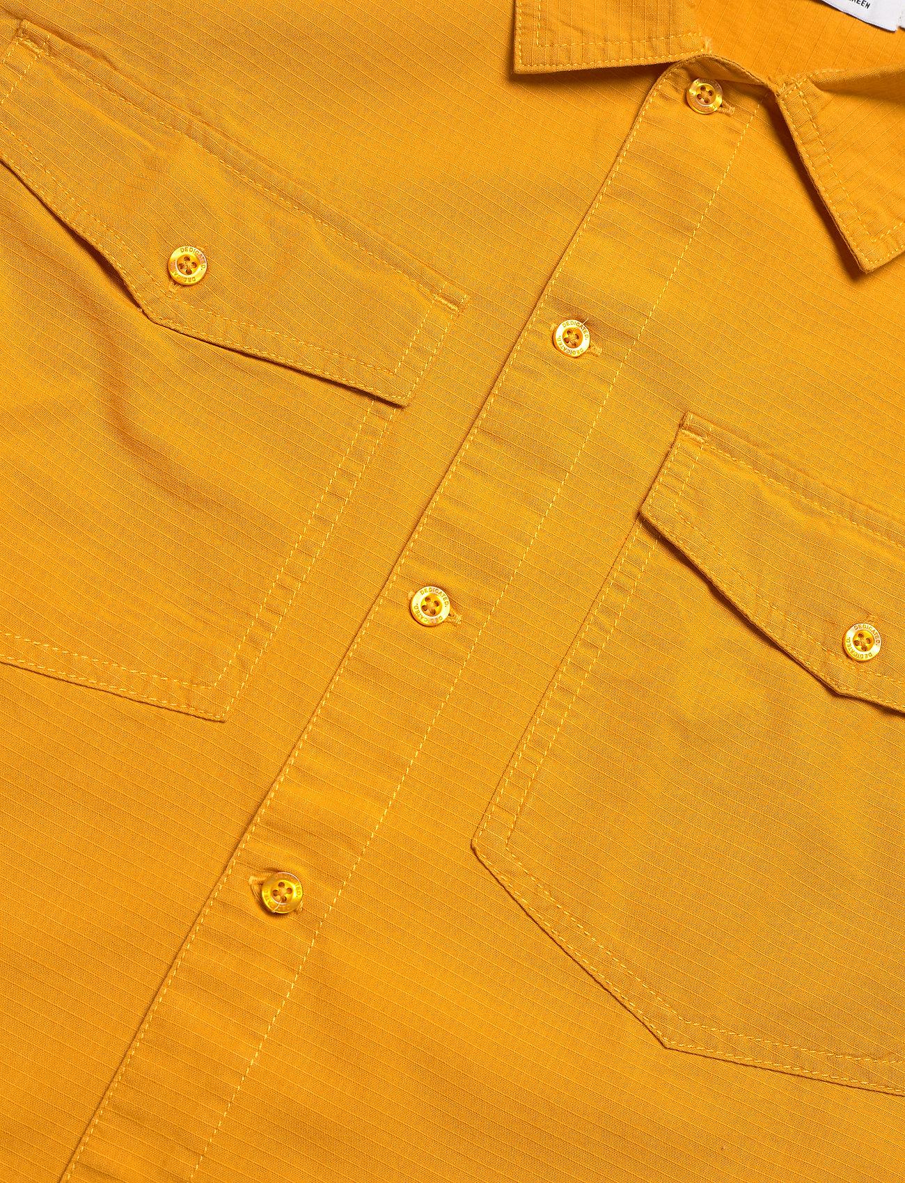 DEDICATED - Shirt Edsbyn Golden Yellow - chemises à carreaux - golden yellow - 3