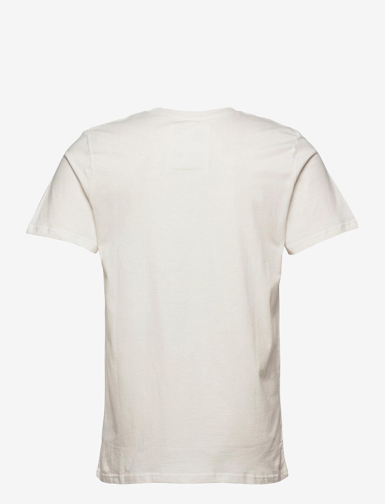 DEDICATED T-shirt Stockholm Eat Sleep Ski - T-skjorter OFF-WHITE - Menn Klær