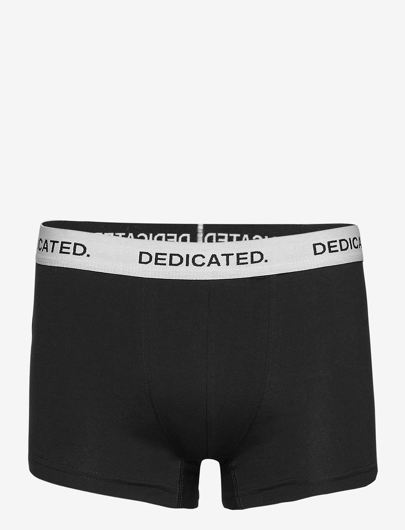 DEDICATED - Boxer Briefs Kalix Base - boxers - black - 0