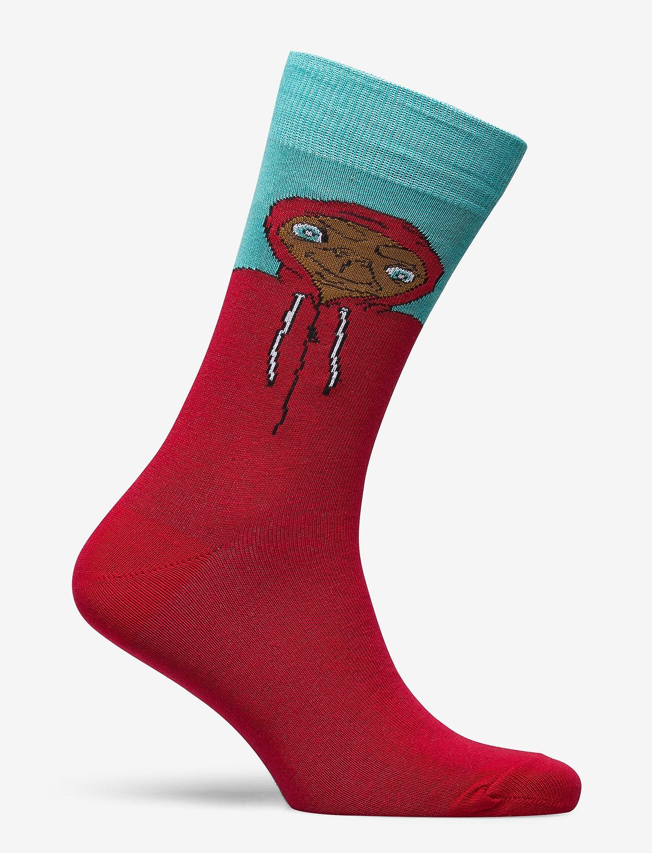 DEDICATED Socks Sigtuna Extra Terrestrial - Sokker RED - Menn Klær