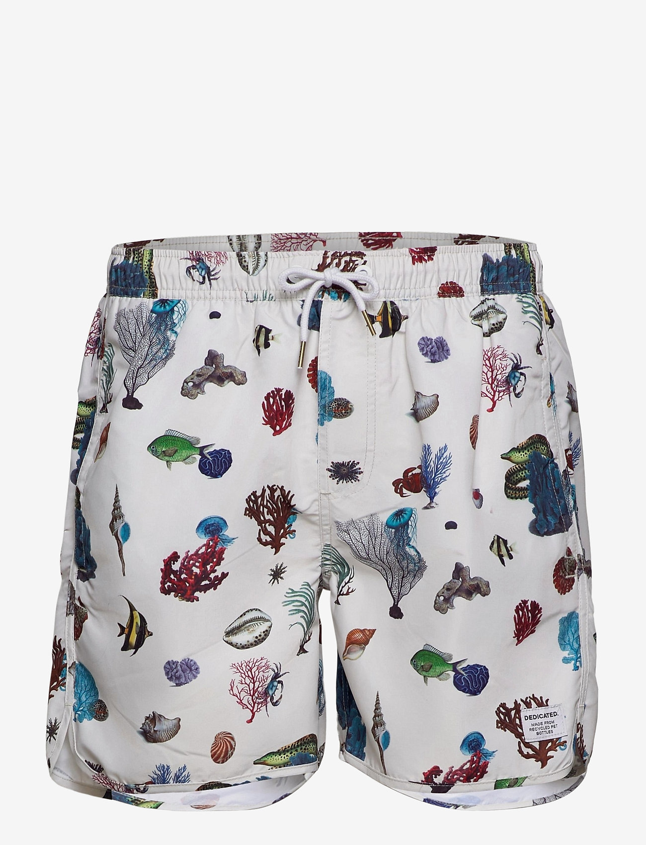 DEDICATED - Swim Shorts Coral Reef - shorts de bain - off-white - 0