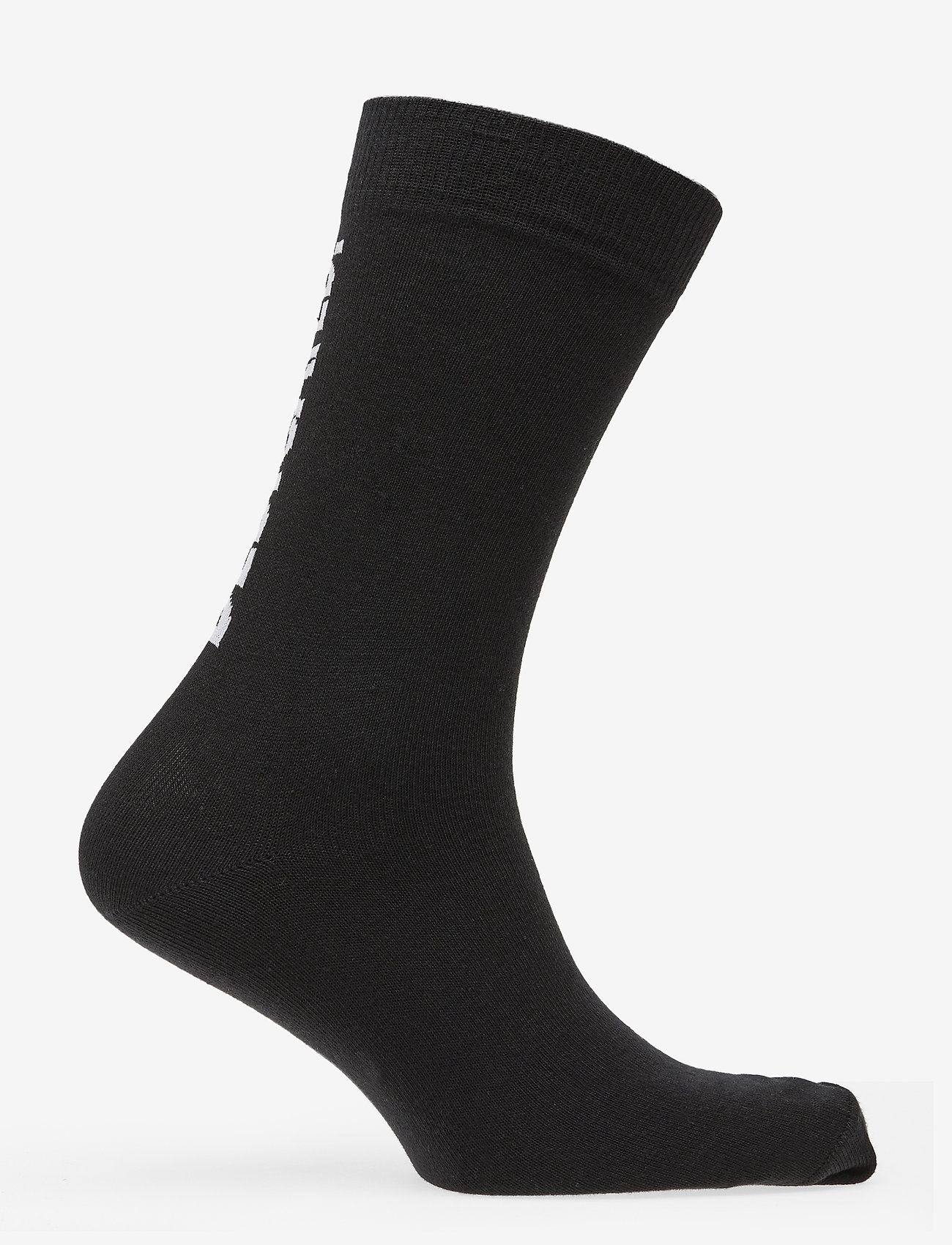 DEDICATED - Socks Sigtuna Dedicated Logo - chaussettes régulières - black - 1