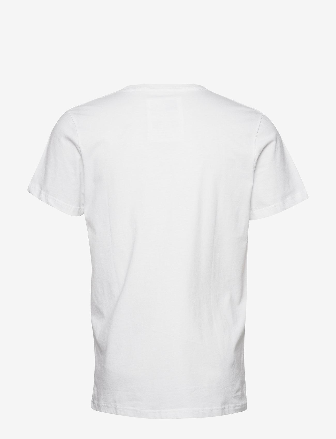 DEDICATED T-shirt Stockholm Lopez - T-skjorter WHITE - Menn Klær