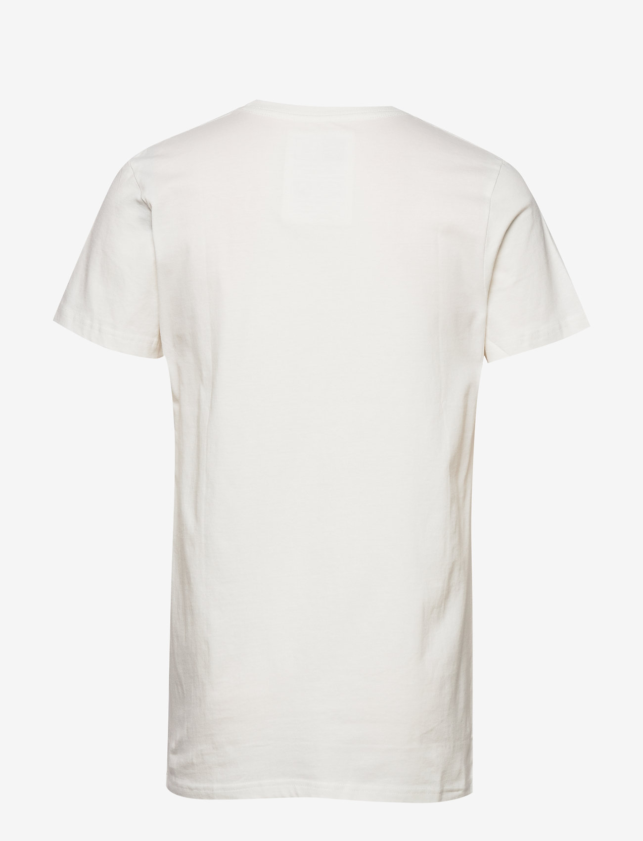 DEDICATED - T-shirt Stockholm Slice Of Heaven - lyhythihaiset - off-white