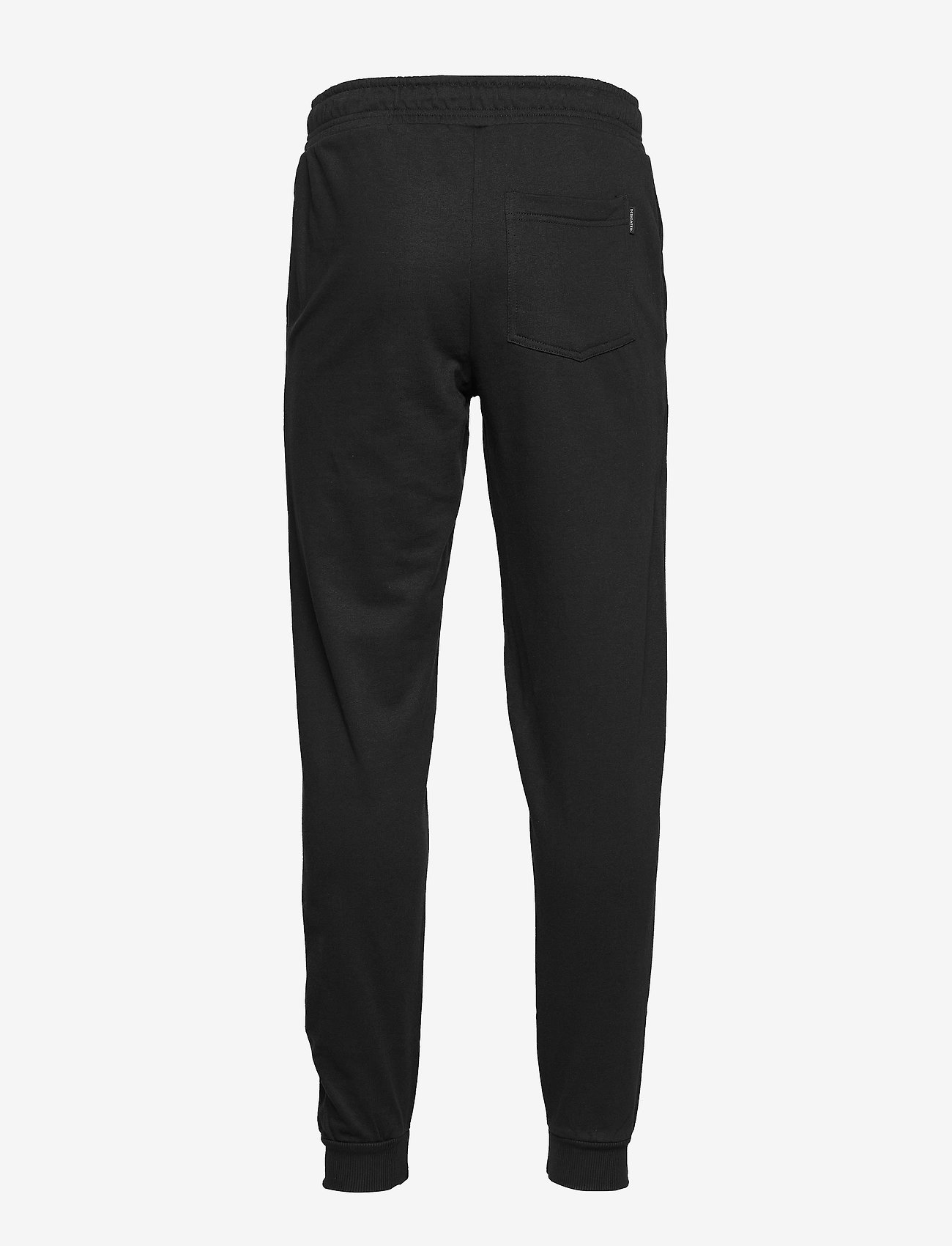 DEDICATED - Joggers Lund Dedicated Logo - collegehousut - black