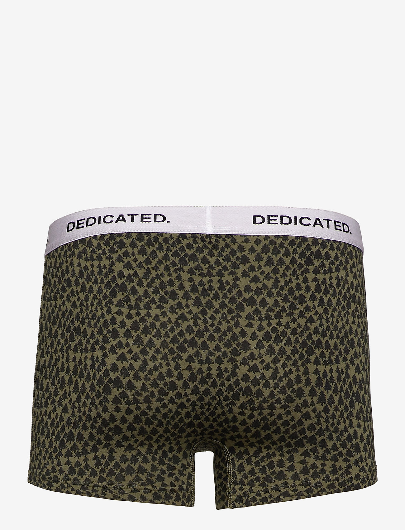 DEDICATED Boxer Briefs Kalix Trees - Boxershortser LEAF GREEN - Menn Klær