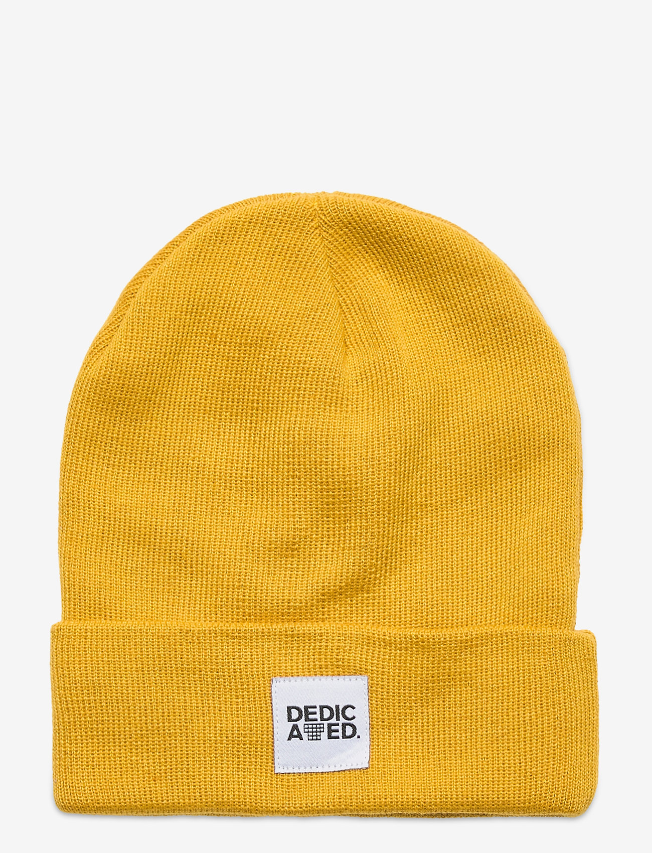 DEDICATED - Beanie Kiruna - bonnets & casquettes - golden yellow - 0