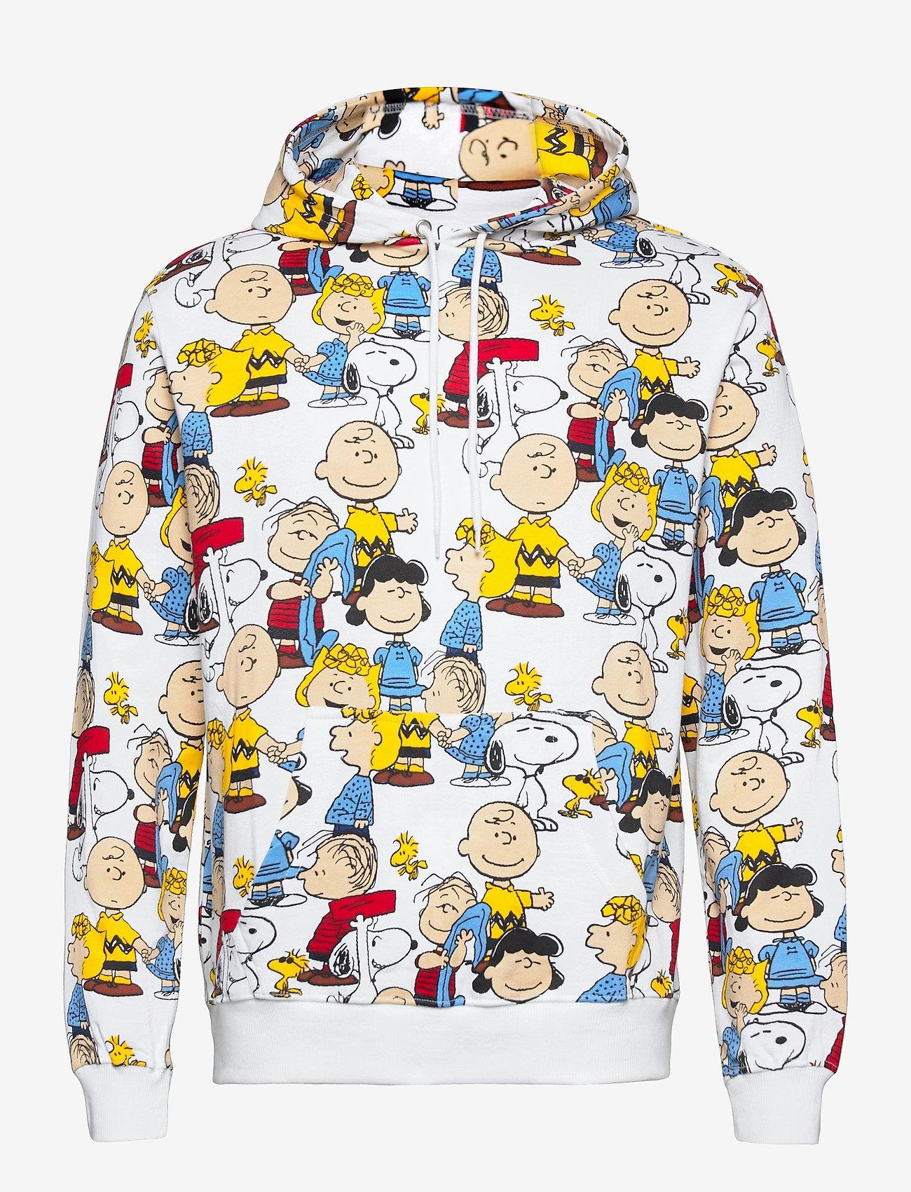 DEDICATED - Hoodie Falun Peanuts AOP Multi Color - sweats à capuche - multi color - 0