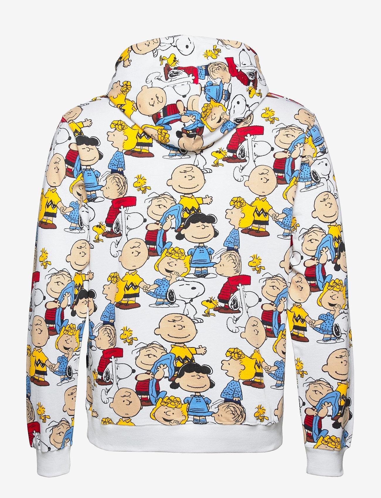 DEDICATED - Hoodie Falun Peanuts AOP Multi Color - sweats à capuche - multi color - 1