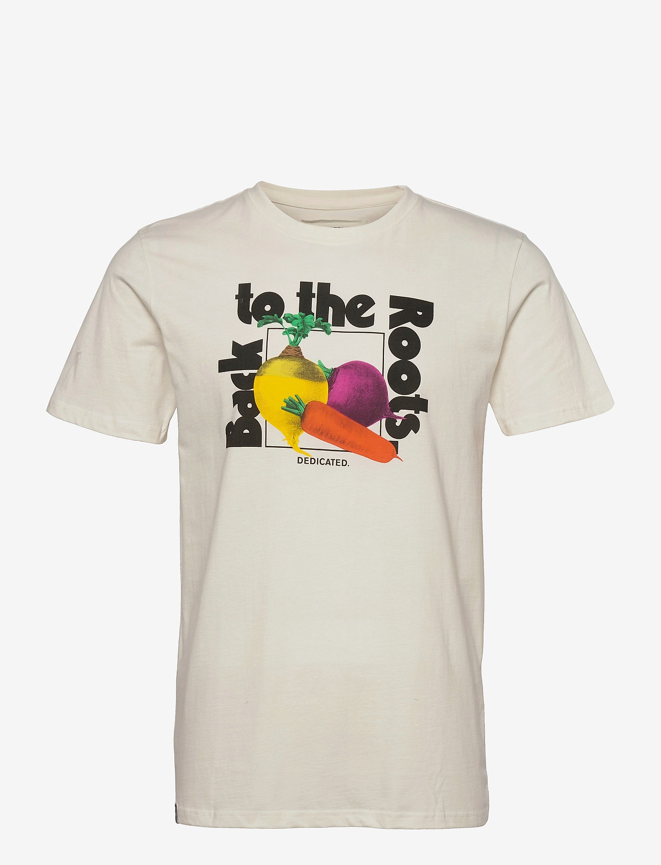 DEDICATED - T-shirt Stockholm The Roots Off-White - t-shirts à manches courtes - off-white - 0