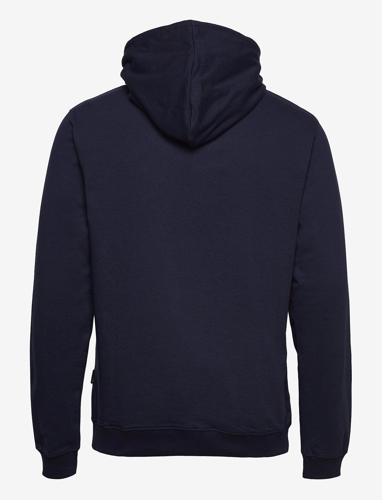 DEDICATED - Hoodie Falun Local Planet Navy - sweats à capuche - black iris - 1