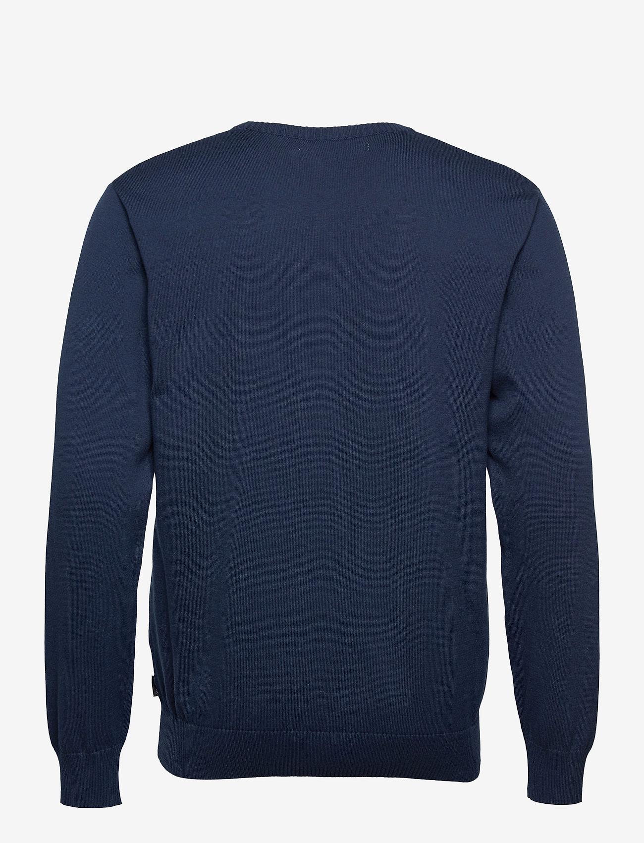 DEDICATED - Sweater Mora Snoopy Navy - truien met ronde hals - black iris - 1