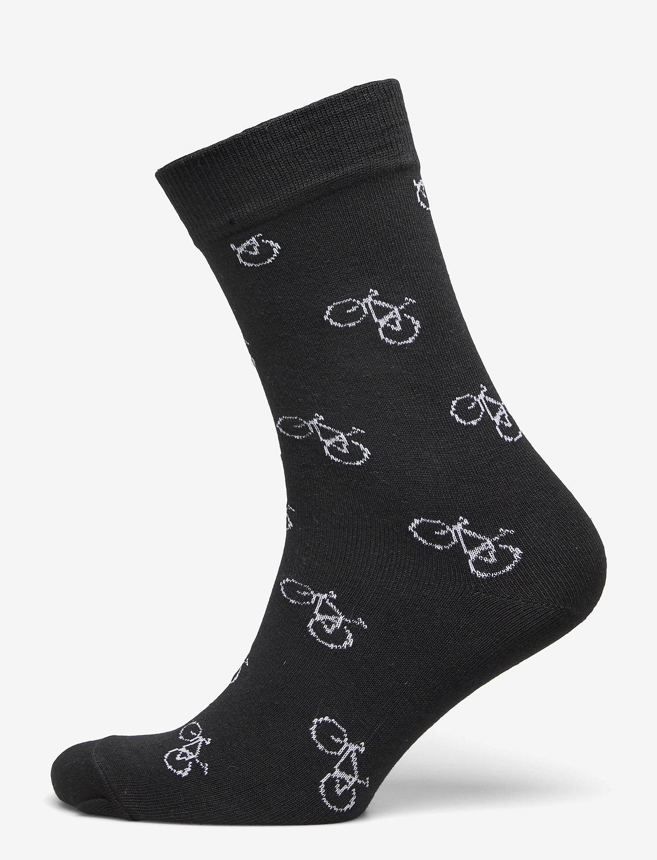 DEDICATED - Socks Sigtuna Bike Pattern 5-pack - kousen - multi - 5