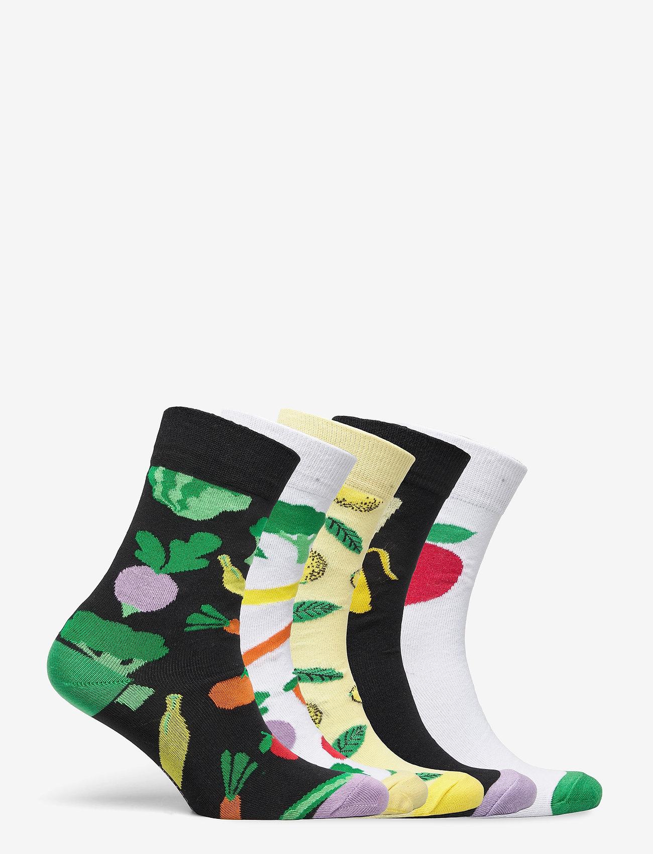 DEDICATED - Socks Sigtuna Fruits 5-pack - kousen - multi - 10
