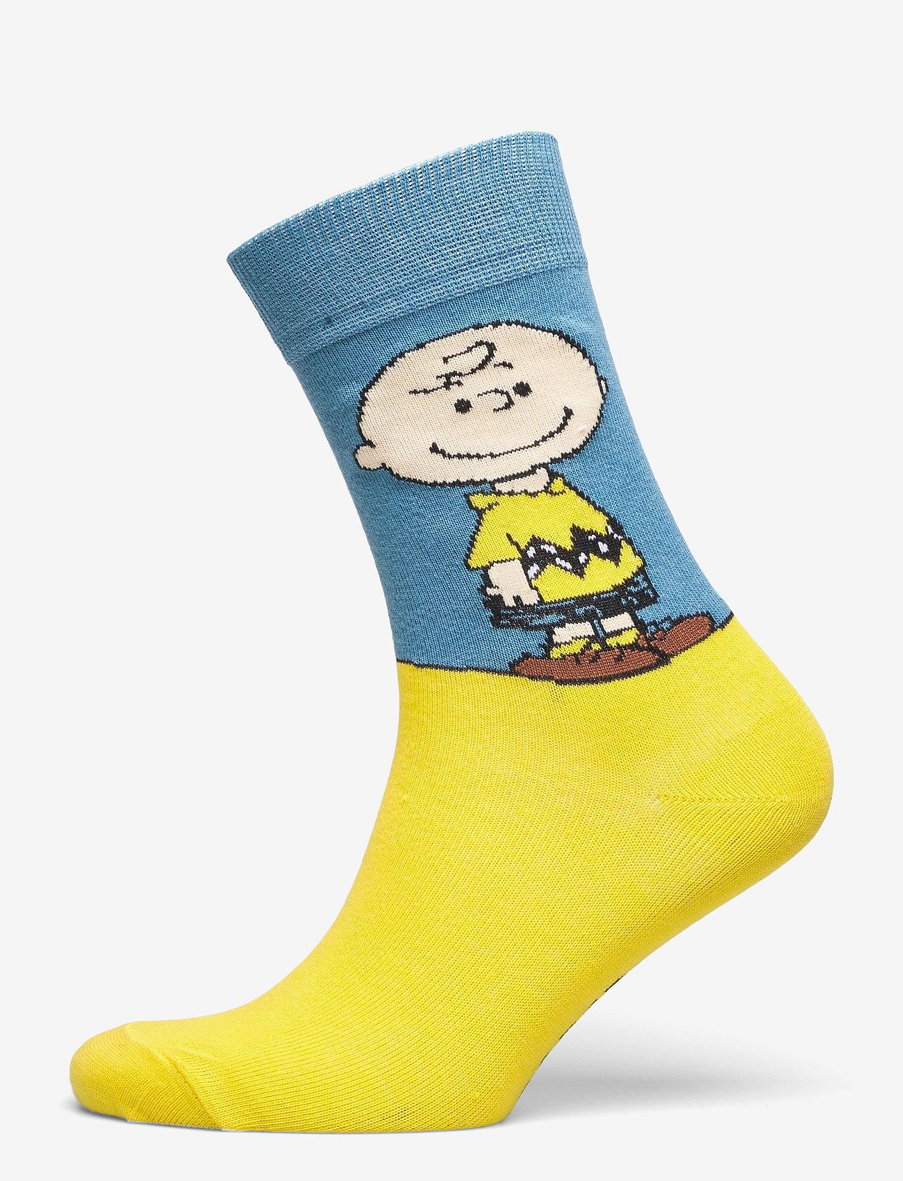 DEDICATED - Socks Sigtuna Peanuts 5-pack - chaussettes régulières - multi - 3