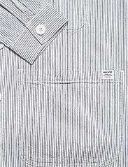 DEDICATED - Worker Jacket Sala Thin Stripes - chemises à carreaux - blue - 3