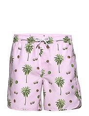 Swim Shorts Sandhamn Coconuts - PINK