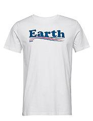 T-shirt Stockholm Vote Earth - WHITE