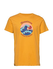 T-shirt Stockholm Happiness - YELLOW