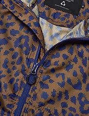 DEDICATED - Windbreaker Skara Leopard - kurtki-wiosenne - chipmunk - 2