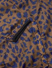 DEDICATED - Windbreaker Skara Leopard - kurtki-wiosenne - chipmunk - 3
