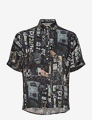 DEDICATED - Shirt Short Sleeve Nibe Urban - overhemden met korte mouwen - multi color - 0
