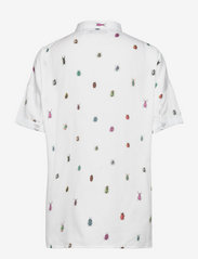 DEDICATED - Shirt Short Sleeve Nibe Bugs - overhemden met korte mouwen - white - 1